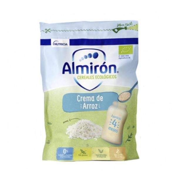 Almiron Cereales Ecologicos Crema Arroz Sin gluten 200g