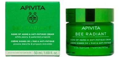 Apivita Bee Radiant Peony Crema Rica 50ml