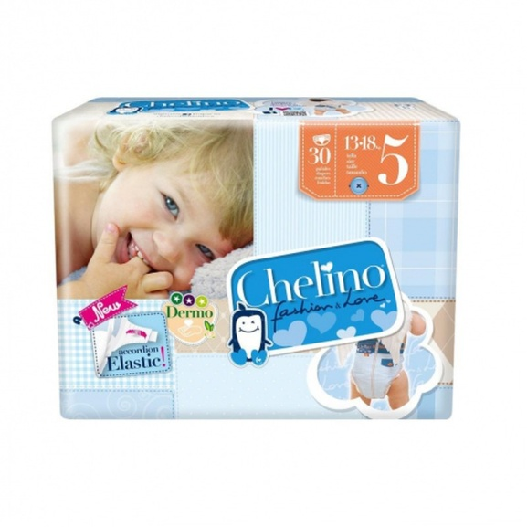 Chelino Pañal Bebé Talla 5 13 a 18 kgs 30 unidades