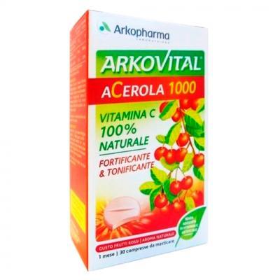 Arkovital Acerola 1000 30 Comprimidos
