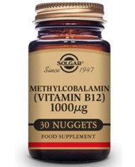 Solgar Metilcobalamina Vitamina B12 1000 mg 30 Comprimidos